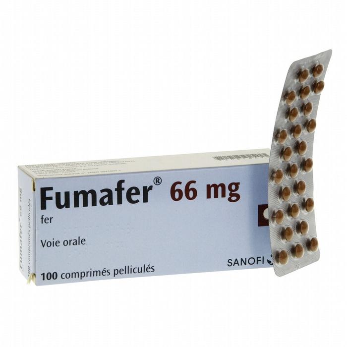 Fumafer 66mg - 100 comprimés Sanofi-193975
