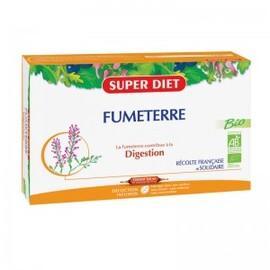 Fumeterre ampoule bio - 20.0 unites - digestion bien être - super diet Excellent dépuratif général-4454