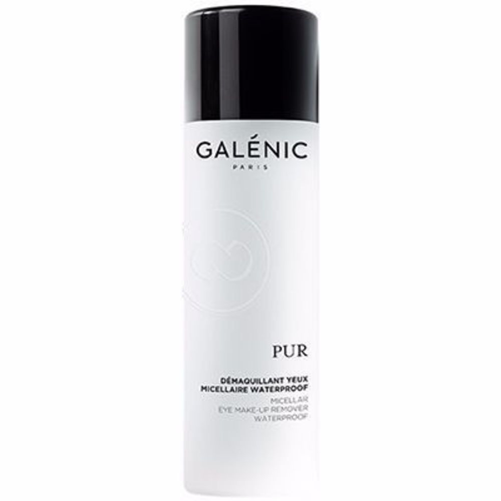 Galenic pur démaquillant yeux micellaire waterproof 125ml - galénic -215526