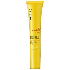 Galenic soins soleil crème légère visage sfp50+ - avec soleil - galénic -81403