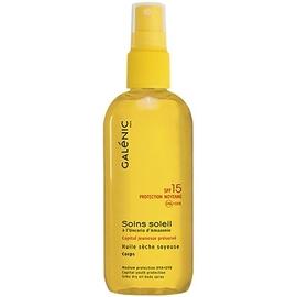 Galenic soins soleil spray huile sèche soyeuse sfp15 - avec soleil - galénic -81410