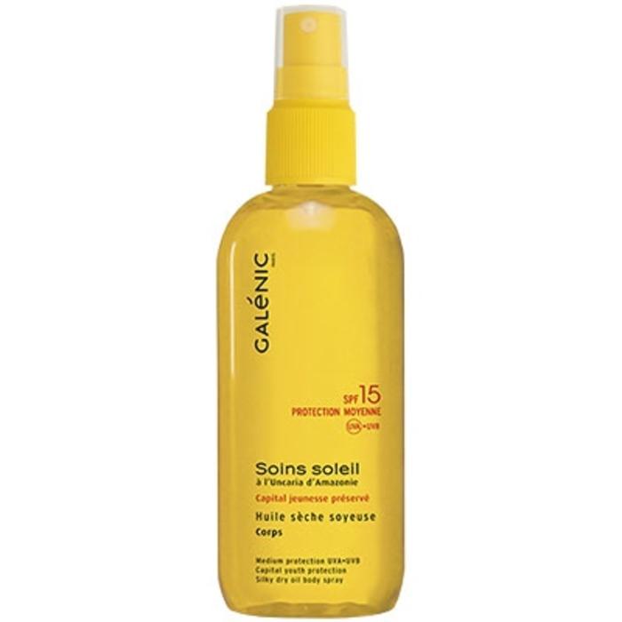 Galenic soins soleil spray huile sèche soyeuse sfp15 Galénic-81410