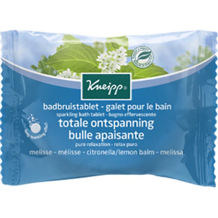 Galet pour le bain bulle apaisante mélisse 80g Kneipp-226173