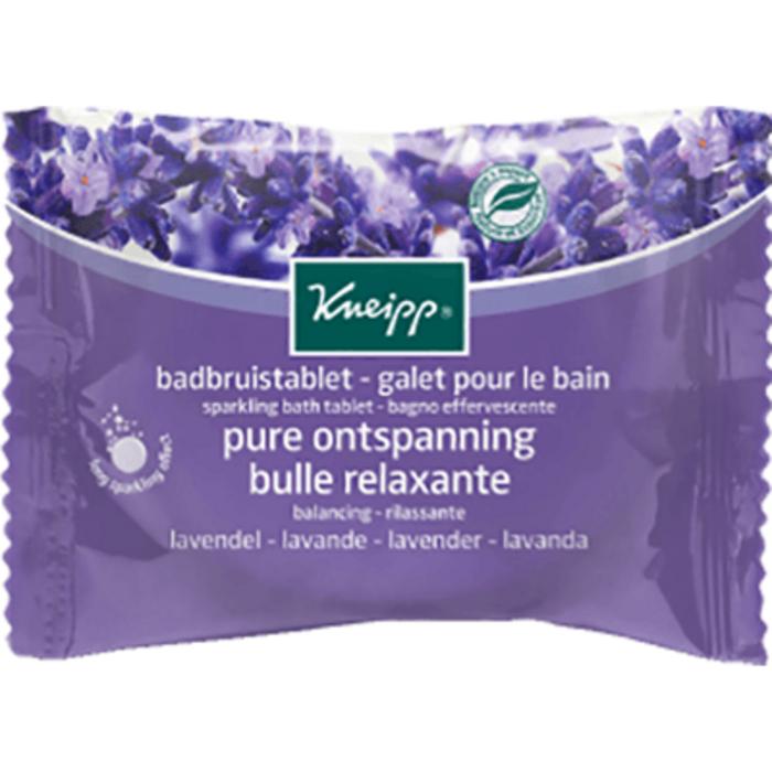 Galet pour le bain bulle relaxante lavande 80g Kneipp-226178