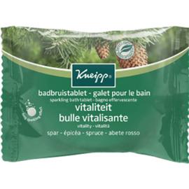Galet pour le bain bulle vitalisante epicéa 80g - kneipp -226179