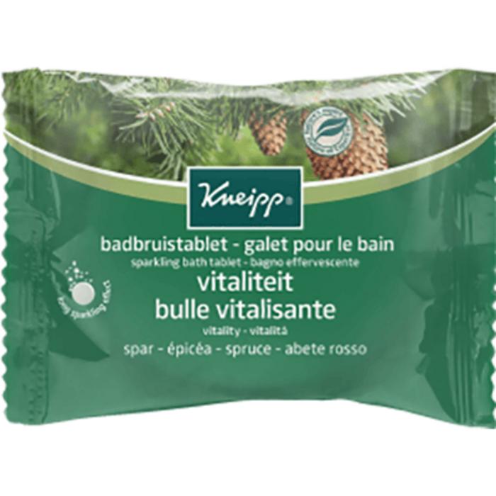 Galet pour le bain bulle vitalisante epicéa 80g Kneipp-226179