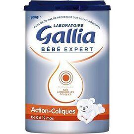 Gallia bébé expert action-coliques 800g - 800.0 g - gallia -148389