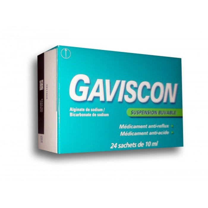 Gaviscon suspension buvable - 24 sachets Reckitt benckiser-194128