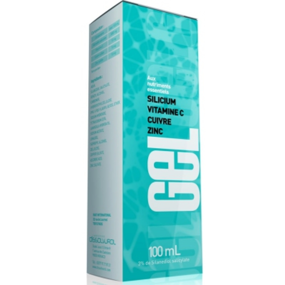 Gel - 100ml - dissolvurol -196994