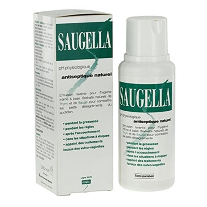 Gel antiseptique naturel - 250ml Saugella-194718
