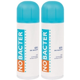 Gel de rasage - lot de 2 - nobacter -199967