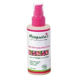 Gel démaquillant doux yeux & visage - 150.0 ml - les soins visages - eumadis mosquetas -4958