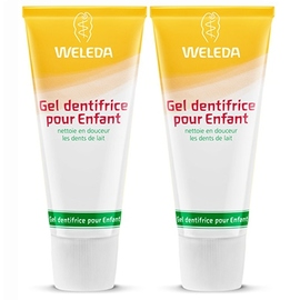 Gel dentifrice enfant - lot de 2 - weleda -200858