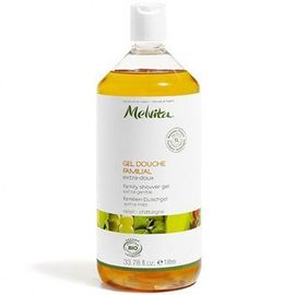 Gel douche familial bio 1l - savons liquides aux huiles essentielles - melvita -213456