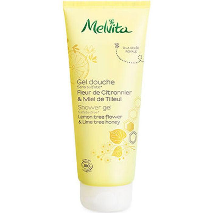 Gel douche fleur citronnier & miel de tilleul 30ml Melvita-223062