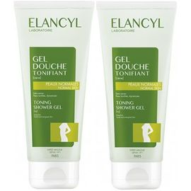 Gel douche tonifiant lot de 2 x 200ml - elancyl -17079