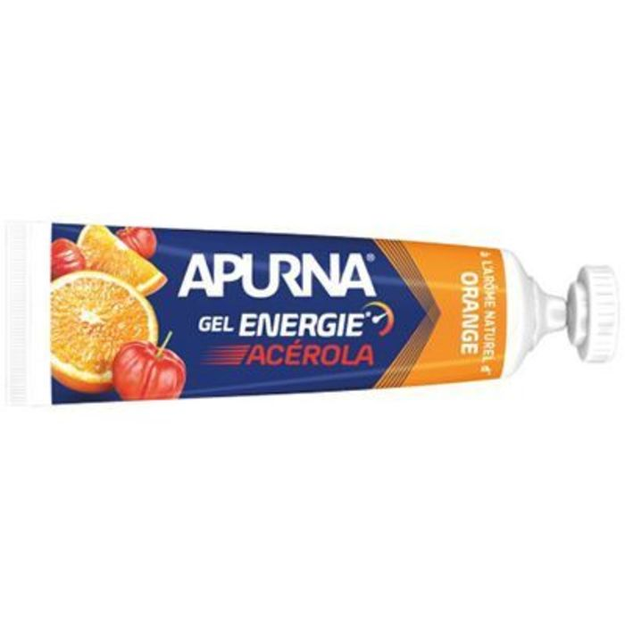 Gel energie acérola orange - tube de 35g Apurna-221552