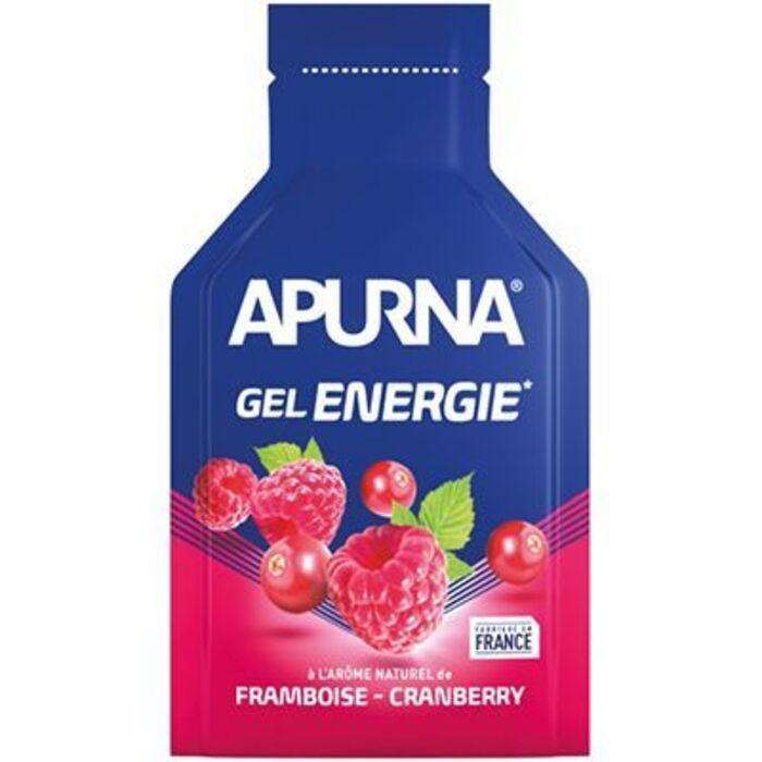 Gel energie framboise cranberry - tube de 35g Apurna-221554