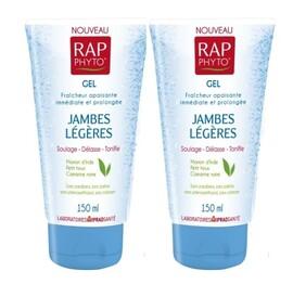 Gel jambes legeres - lot de 2 - 150.0 ml - médecine nutritionnelle - phytothérapie - rap phyto Jambes légères-139280