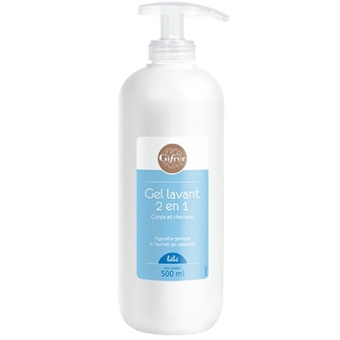 Gel lavant 2 en 1 - 500ml Gifrer-203596