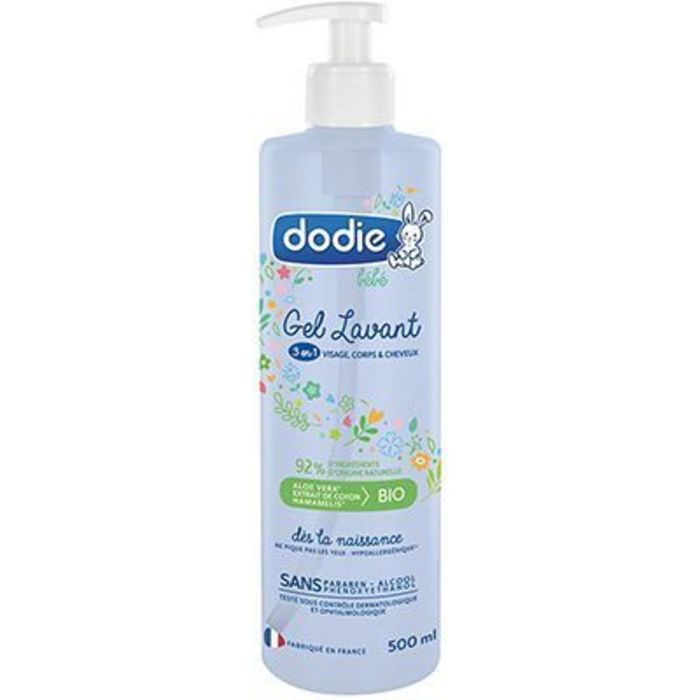 Gel lavant 3en1 500ml Dodie-220720