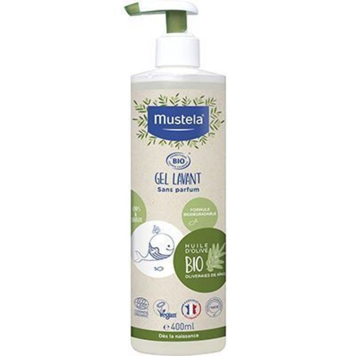 Gel lavant bio 400ml Mustela-228755