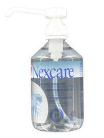 Gel mains antiseptiques - 500.0 ml - nexcare gel mains - nexcare désinfection optimale des mains-7416