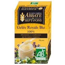 Gelée royale bio - 25.0 g - les produits de la ruche - abbaye de sept-fons -122173