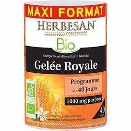 Gelée royale bio 40g - herbesan -223597