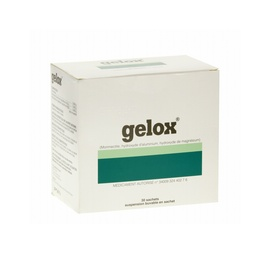 Gelox suspension buvable - 30 sachets - ipsen pharma -194130