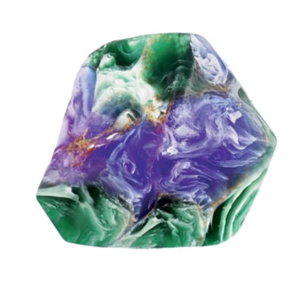 Gemme savon malachite azurite - 170g - 170.0 g - savons - savons gemme -16353