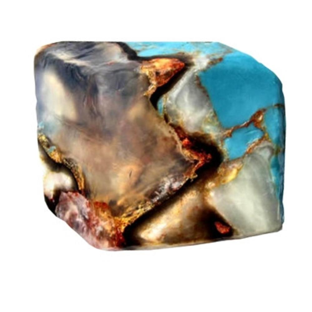 Gemme savon turquoise - 170g - 170.0 g - savons - savons gemme -16362