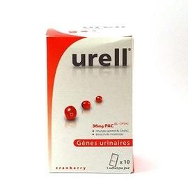 Gênes urinaires - 15.0 unites - cranberry - urell -107186