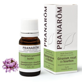 Géranium rosat cv bourbon - 10.0 ml - pranarom -227187