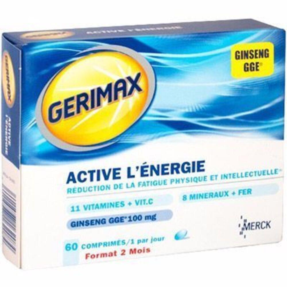 gerimax achat aux meilleurs prix pharmacie en ligne. Black Bedroom Furniture Sets. Home Design Ideas