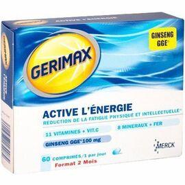 Gerimax active l'energie 60 comprimés - gerimax -215352