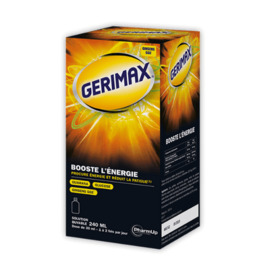 Gerimax booste l'energie solution buvable 240ml - gerimax -216159