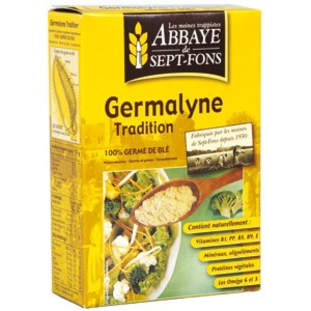Germalyne tradition (100% germe de blé) - 250.0 g - compléments alimentaires germa - abbaye de sept-fons OMEGA 6 et OMEGA 3-11974