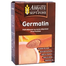 Germatin (cacao maigre, fructose et germe de ble) - 250.0 g - petits déjeuners - abbaye de sept-fons Effet coupe-faim-11988