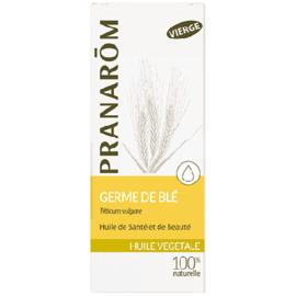 Germe de blé - 50.0 ml - huiles végétales - pranarom peaux sèches, rugueuses ou atones-12395