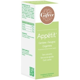 Gifrer appétit solution buvable 125ml - gifrer -190122