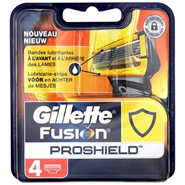 Gillette fusion proshield recharges x4 - gillette -204034