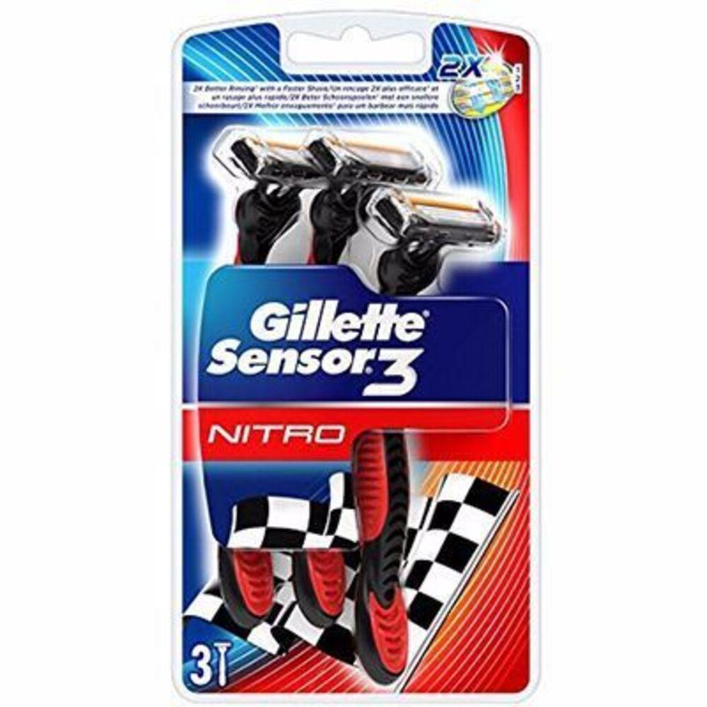 Gillette sensor 3 - 3 rasoirs jetables Gillette-215028