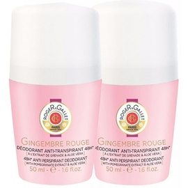 Gingembre rouge déodorant roll-on 2x50ml - roger & gallet -213302