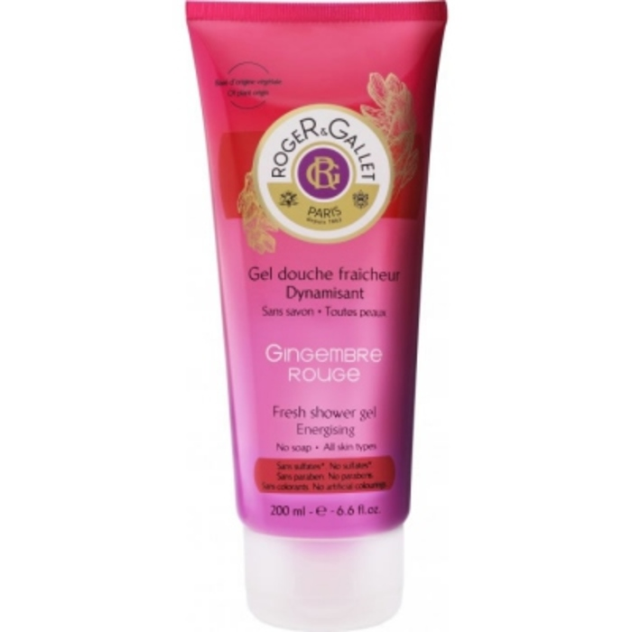 Gingembre rouge gel douche 200ml Roger & gallet-190962
