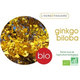 Ginkgo biloba bio - ampoules - l'herbothicaire -200763