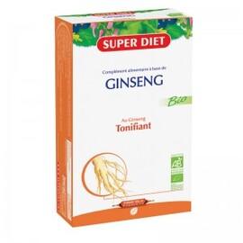 Ginseng ampoules bio - 20.0 unites - vitalité - intellect - super diet Vertus tonifiantes-4460
