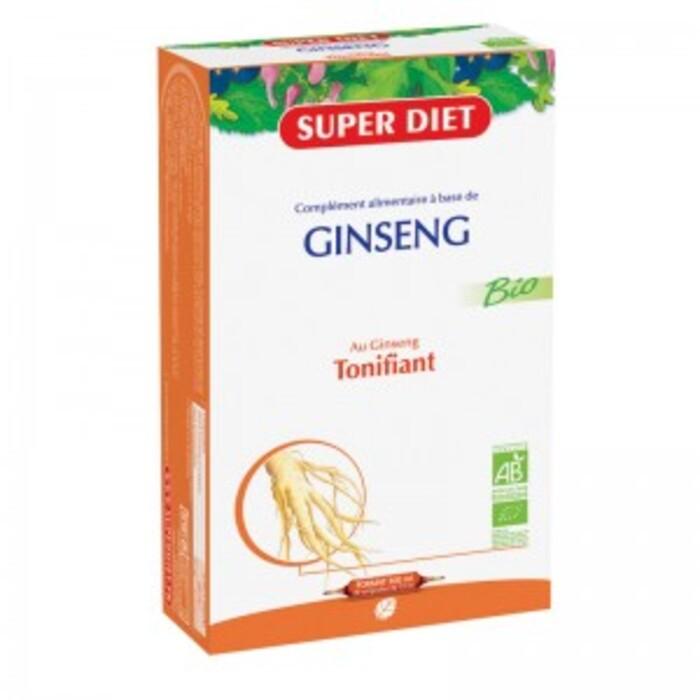 Ginseng ampoules bio Super diet-4460