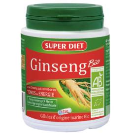 Ginseng bio - 150.0 unites - la gamme vitalité - super diet Tonifiant physique et mental-4568