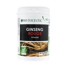 Ginseng rouge bio - 60.0 unites - bien-etre bio - institut phytoceutic -5835